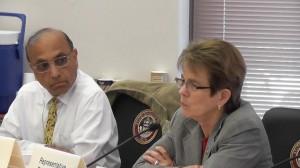 Rep. Janak Joshi, R-Colorado Springs and Rep. Kay Schafer, D-Wheat Ridge. Joshi