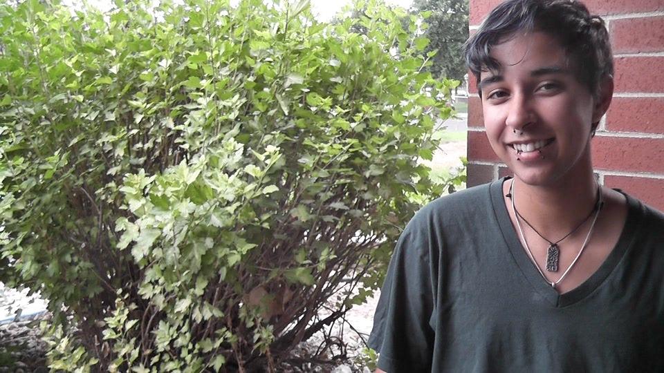 Alex smiling