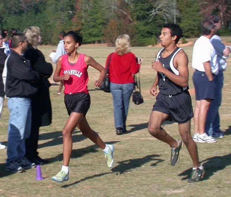 Michaela running