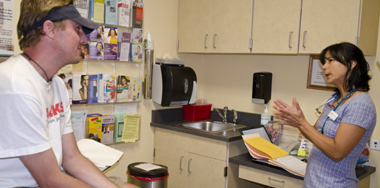 Patients who dont have insurance can get primary care at the Summit Community Care Clinic
